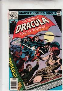 Tomb of Dracula #56 (May-77) FN/VF Mid-High-Grade Dracula