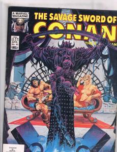 Savage Sword Of Conan # 99 Marvel Curtis Comic Book Magazine Kull Sonja J101