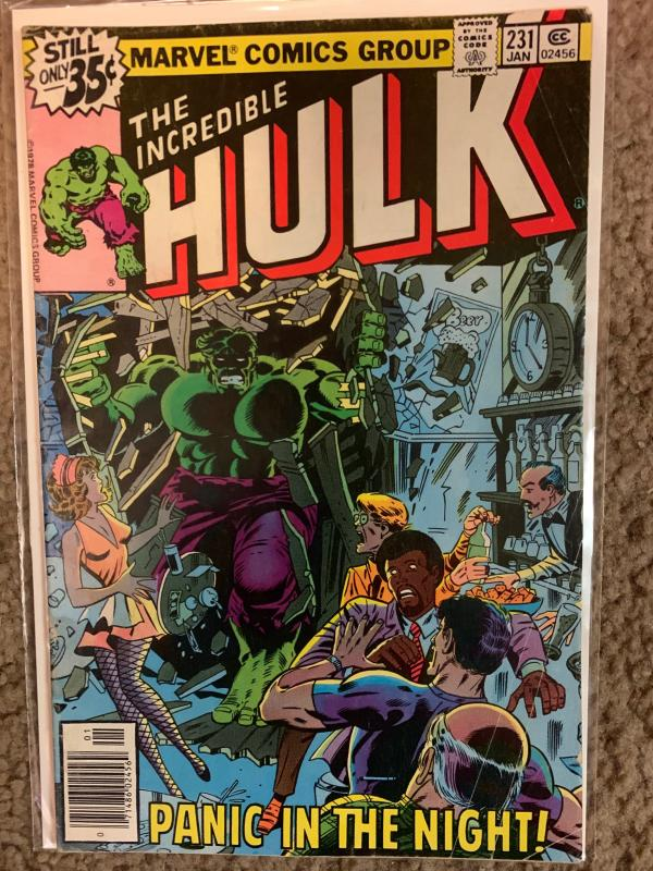 Incredible Hulk ( 1968 ) 231 Good/VG 3.0