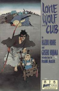 Lone Wolf and Cub #7 VF/NM; First | save on shipping - details inside