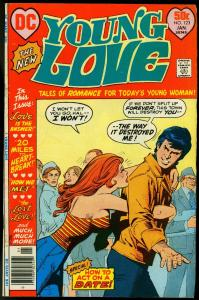 Young Love #123 1977- DC Romance- Side boob Headlight cover VG