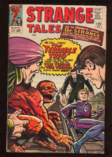 Strange Tales (1951 series) #129, VG (Actual scan)