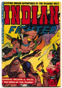 Indian Fighter #10 1951- Bondage cover-Nelson Miles
