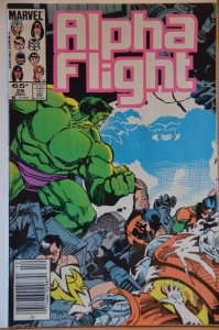 Alpha Flight #29 (1985) VF+