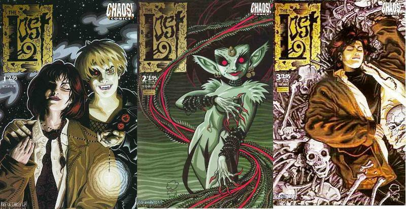 LOST, THE (1997 CHAOS) 1-3  Peter Pan & co as vampires!