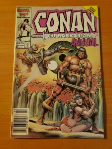 Conan The Barbarian Annual #11 Newsstand Edition ~ NEAR MINT NM ~ 1987
