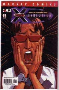 X-Men: Evolution # 9 FN Faerber/J.J. Kirby
