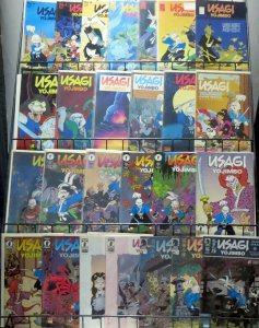 USAGI YOJIMBO COLLECTION! 26 issues- Fantagraphics, Dark Horse, TMNT x-over