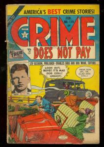 CRIME DOES NOT PAY #119 1953-LEV GLEASON-MAD DOG COLL- FR/G