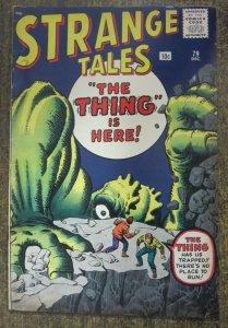 STRANGE TALES #79 (Marvel/Atlas,12/1960) VERY GOOD MINUS (VG-)