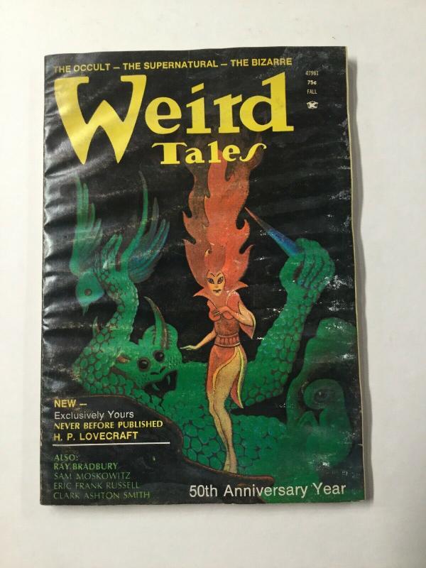 Weird Tales 1 2 3 4 Lot Volume 47 Water Damage
