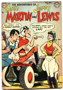 ADVENTURES OF DEAN MARTIN AND JERRY LEWIS #3-1952-I LOVE LUCY-AUTO RACE ISSUE