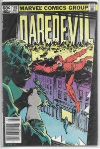 Daredevil   vol. 1   #192 GD/VG