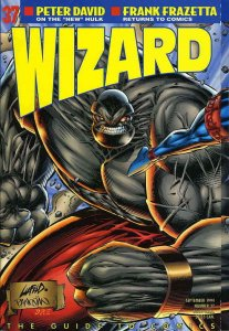 Wizard: The Comics Magazine #37A FN; Wizard | save on shipping - details inside