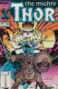 Thor #342 VF/NM; Marvel | save on shipping - details inside