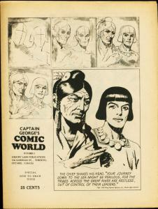 CAPTAIN GEORGES COMIC WORLD-REPRINTS-#5-PRINCE VALIANT FN