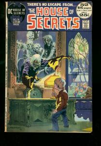 HOUSE OF SECRETS #96 '72 DC COMICS WRIGHTSON COVER TOTH VG/FN