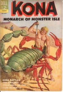 KONA 9 VG-F Jan.-Mar. 1964 COMICS BOOK