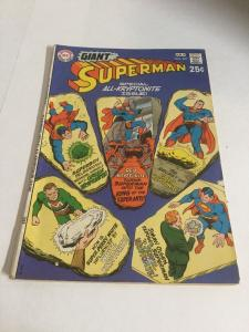 Superman 227 FR/Gd Fair/Good 1.5 Incomplete Add Cut Out Of Back DC SA