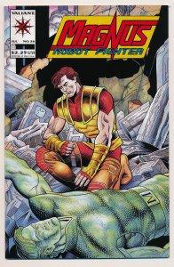 Magnus Robot Fighter (1991 Valiant) #26 NM