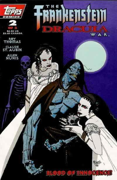 Frankenstein/Dracula War, The #2 VF/NM; Topps | save on shipping - details insid