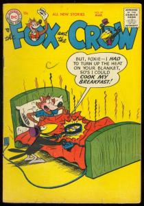 FOX AND THE CROW #39 1957-DC COMICS-WACKY FUNNY ANIMALS VG
