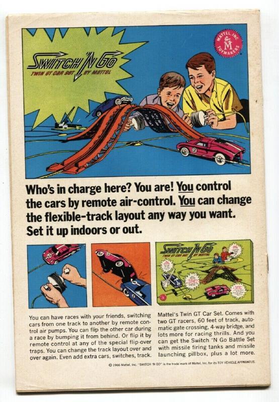 FLASH #164-silver-age comic book DC 1966