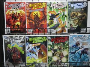 SUICIDE SQUAD (2007-2008) 1-8  complete series!