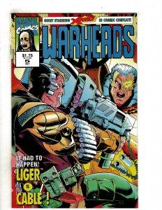 Warheads (UK) #5 (1992) YY5