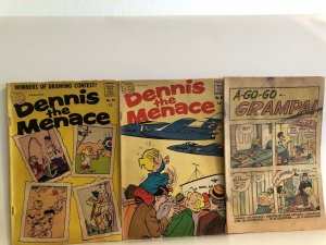 Dennis the Menace #82 , 92, And Cover less Mystery Issue