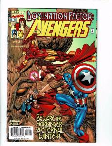 Lot Of 3 Avengers Domination Factor Marvel Comic Books # 1.2 2.4 3.6 Hulk BH5