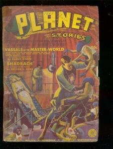 PLANET STORIES #8-FALL '41-BINDER-BOK-FRANK R PAUL-PULP G
