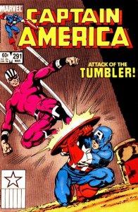 Captain America #291 (ungraded) stock photo ID#B-1