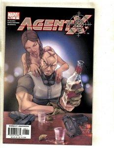 Lot Of 8 Agent X Marvel Comic Books # 8 9 10 11 12 13 14 15 Deadpool X-Men RP6