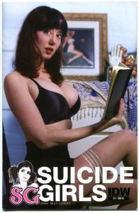 SUICIDE GIRLS #4, VF, Variant, 2011, Photo cover, Steve Niles, IDW,Femme fatale