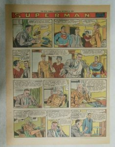 Superman Sunday Page #1043 by Wayne Boring from 10/25/1959 Tabloid Page Size