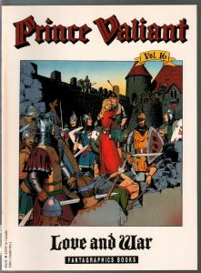 Prince Valiant #16c1990-Fantagraphics-color reprint-Hal Foster-Love & War-VF