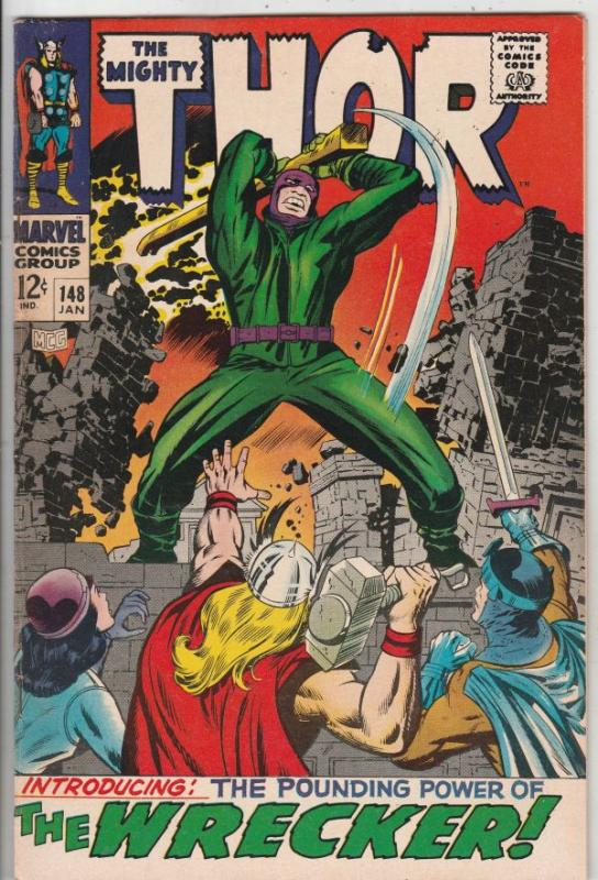 Thor, the Mighty #148 (Jan-68) FN/VF Mid-High-Grade Thor