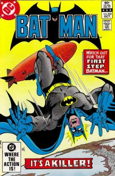 Batman (1940 series) #352, Fine+ (Stock photo)