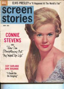 Screen Stories-Connie Stevens-Burt Lancaster-Elvis-May-1963