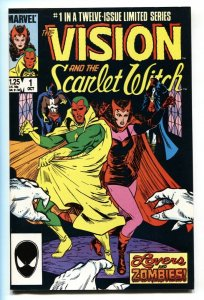 Vision and the Scarlet Witch #1 1985-comic book-Infinity War