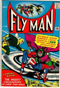 FLY MAN 33 VG-F Sept. 1965
