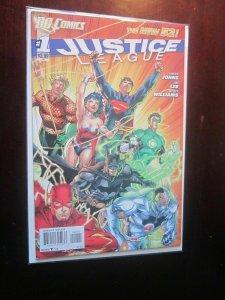 Justice League (2011) #1A - 8.5 VF+ - 2011