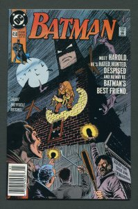 Batman #458 / 9.2 NM- /  Newsstand  January 1991