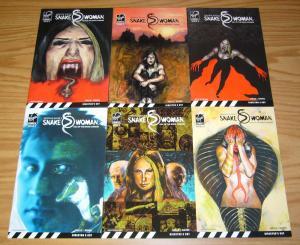 Snake Woman: Tale of the Snake Charmer #1-6 VF/NM complete series - virgin set