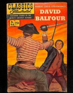 Classics Illustrated #94 (1952)