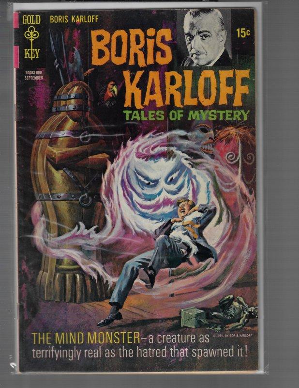 Boris Karloff: Tales of Mystery #27 (Gold Key, 1969)