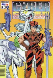 Cyber Crush: Robots in Revolt #7 VF/NM; Fleetway Quality | save on shipping - de