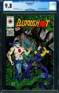 Bloodshot #7 CGC 9.8 1993 Valiant 1stt full Ninjak 2001509007