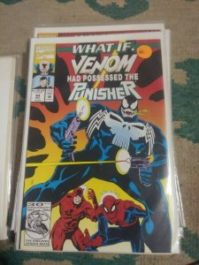 What If...? # 44  1992, Marvel WHAT IF VENOM HAS POSSESSED THE PUNISHER